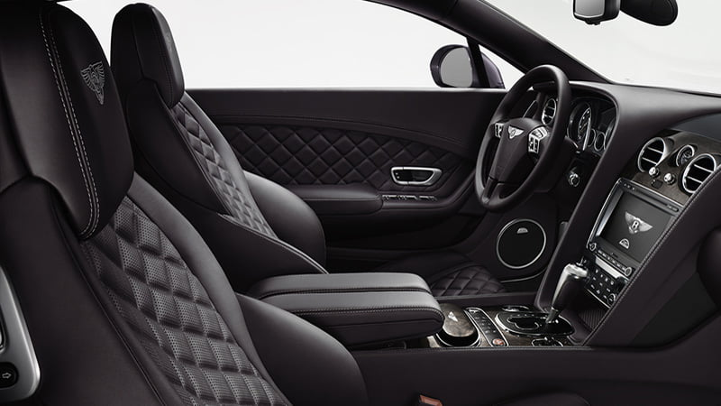 Bentley-Continental-GT interior