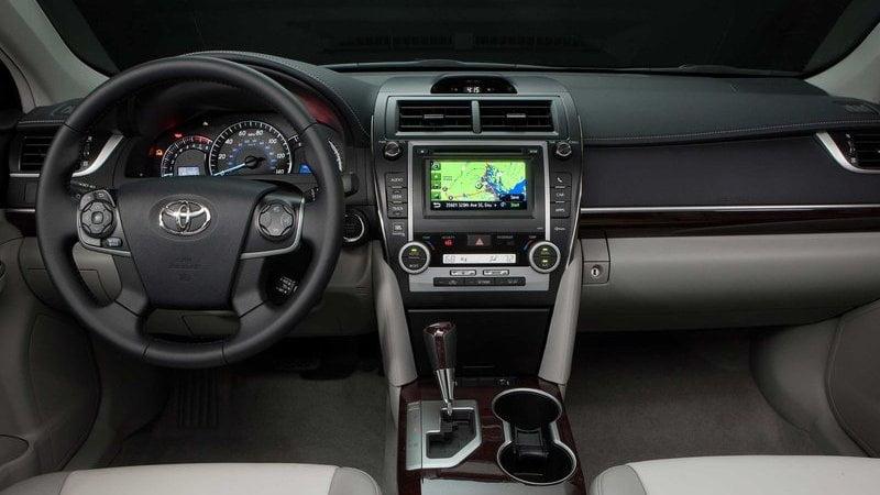 Toyota-Camry interior