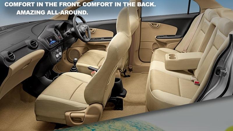 Honda Amaze-interior