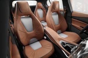 Mercedes Benz GLA Concept interiors