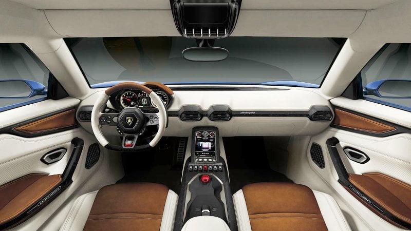 Lamborghini Asterion interiors