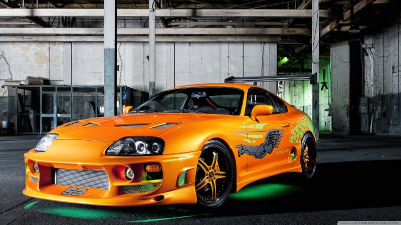 orange_toyota_supra_neon-wallpaper-1366x768