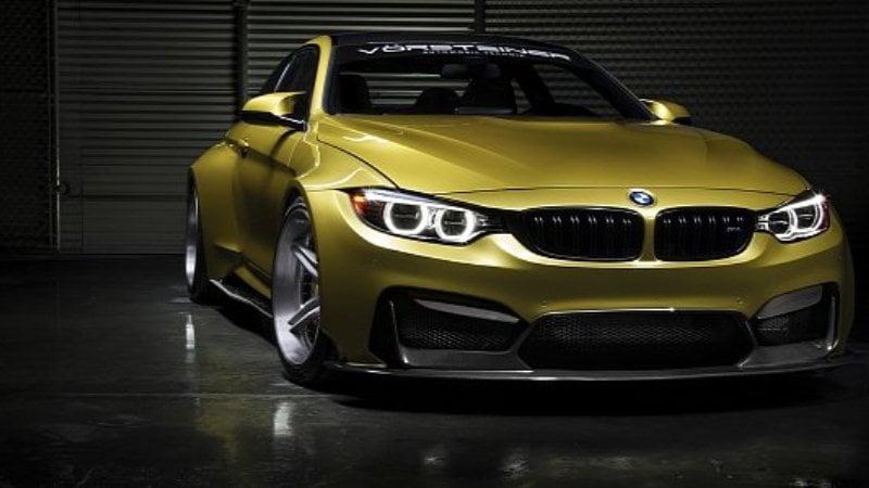 BMW M4 widebody